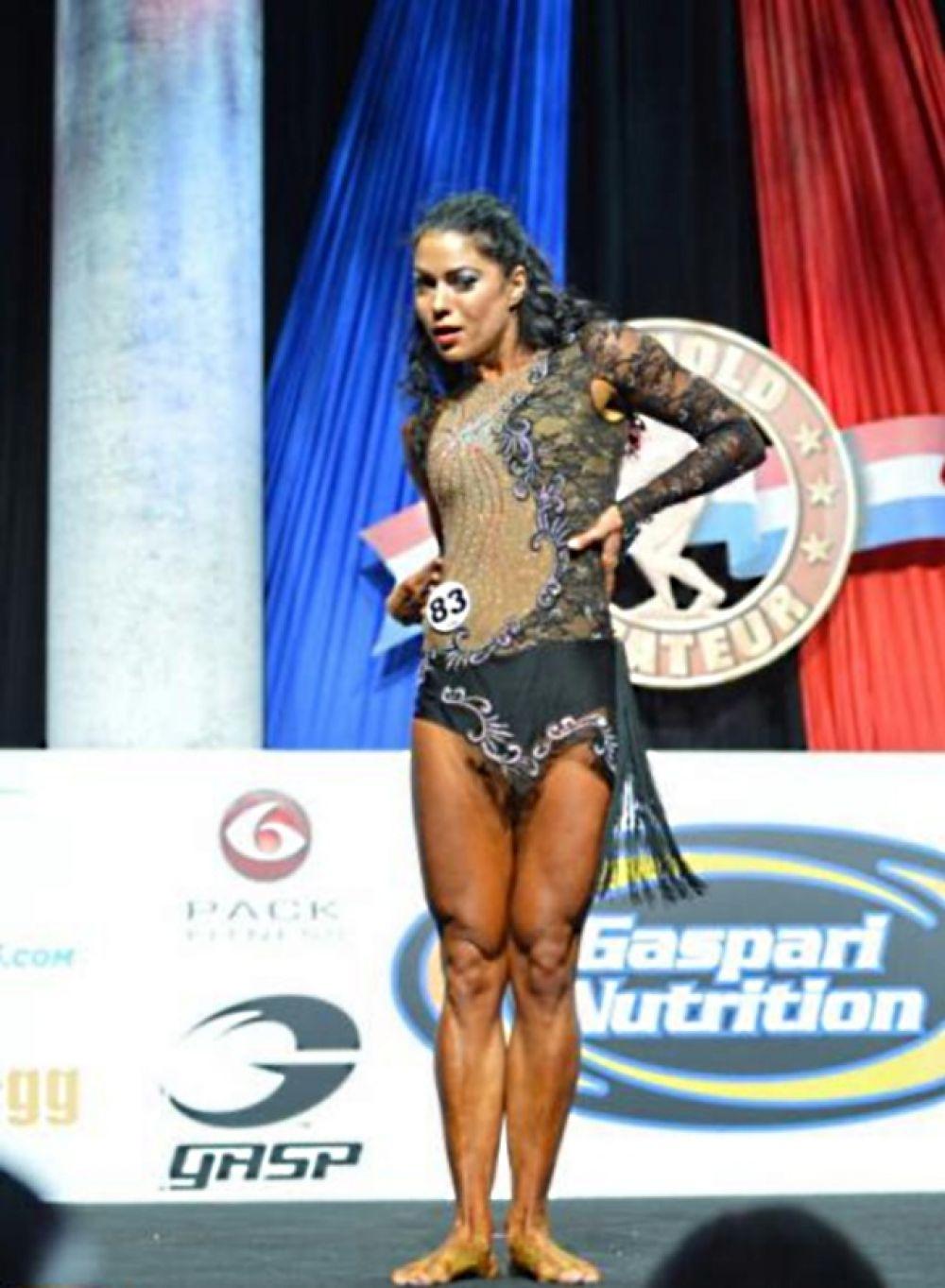 Черкасская фитнесистка завоевывает первые места международных конкурсов не впервые