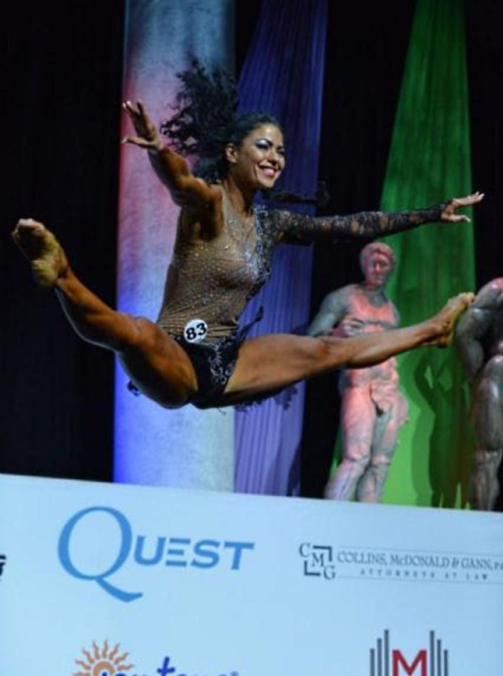 За выступление на международном турнире украинка Оксана Оробец получила «золото»