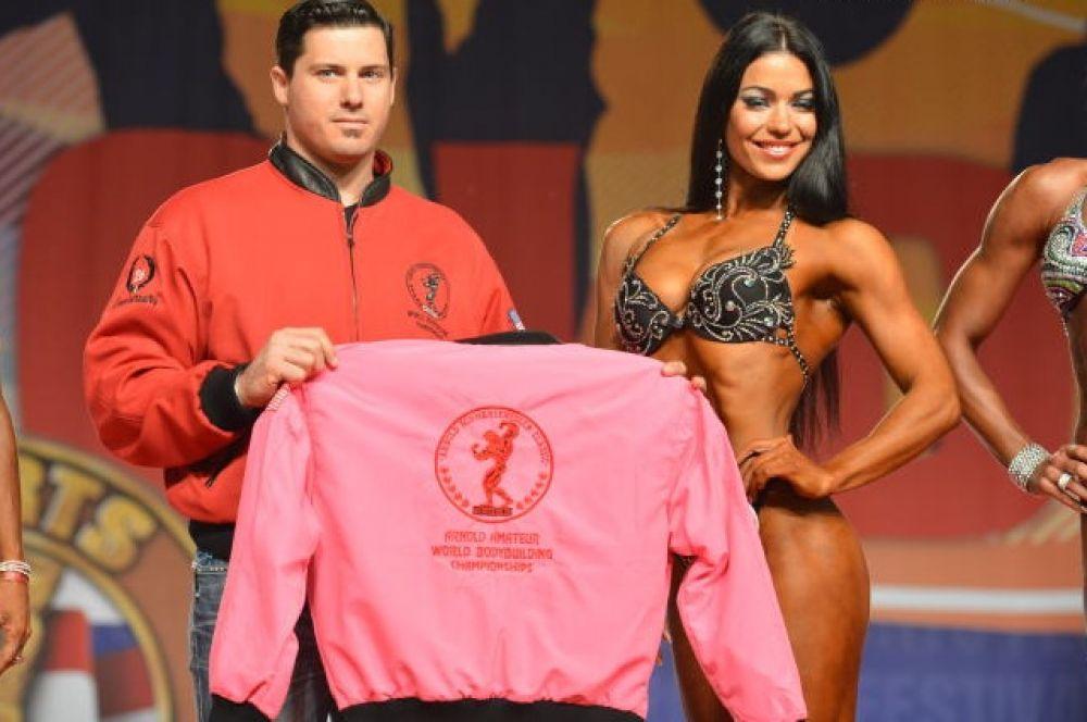 Оксана Оробец стала чемпионкой в низкой категории фитнеса