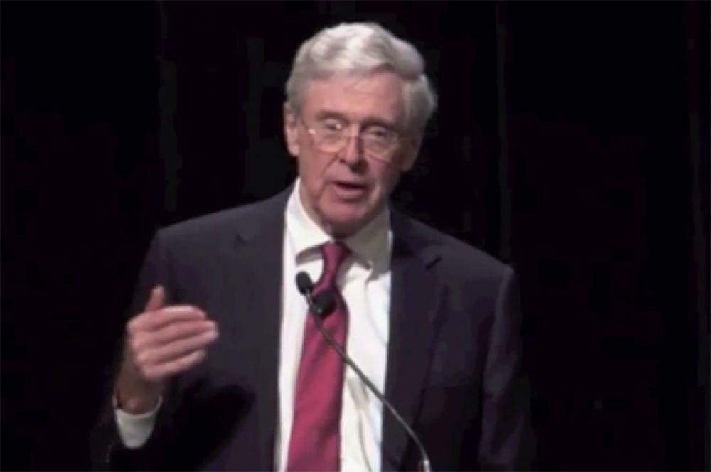 Основатель корпорации Koch Industries Чарльз Кох занял шестое место в рейтинге Forbes – его состояние оценивается в $40 млрд.