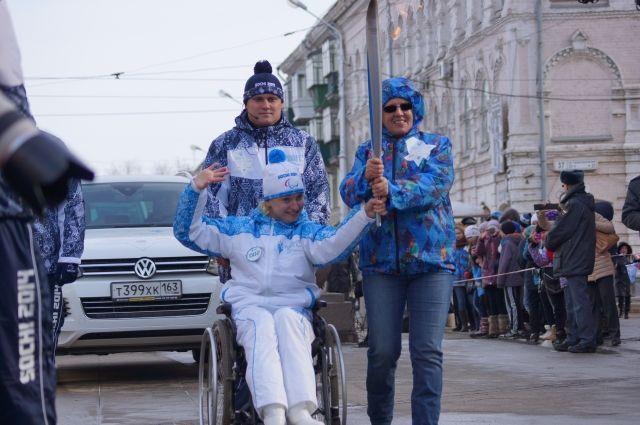Член паралимпийской сборной РФ Яна Костина
