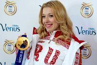 Екатерина Боброва в Олимпийском парке в Сочи.
