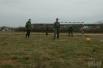 На поле вышли члены личного состава полка тактической авиации Вооруженных сил Украины