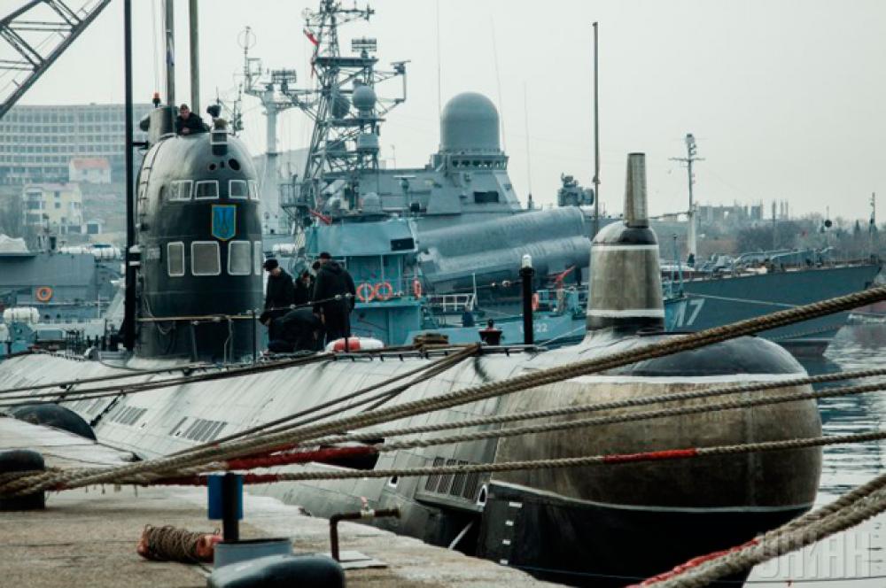 Единственная украинская подводная лодка «Запоріжжя» передислоцирована в Стрелецкую бухту