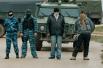 Люди с оружием и закрытыми лицами вблизи аэродрома «Бельбек»