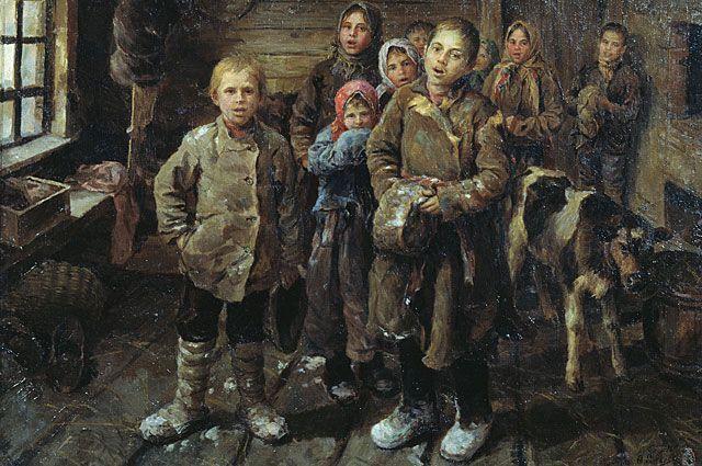 Федот Сычков «Христославы». Не позднее 1927 года.