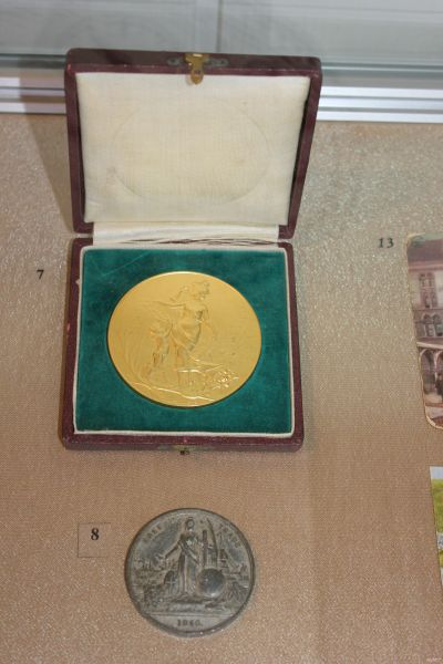 Медаль Международной спортивной выставки, Лондон, 1904.