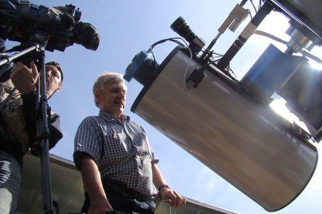 Телескоп в Тунскинской долине помог иркутским астрономам первыми в мире получить уникальные снимки.