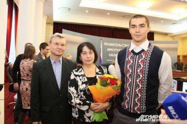 Родители Леши Негодайло гордятся сыном.