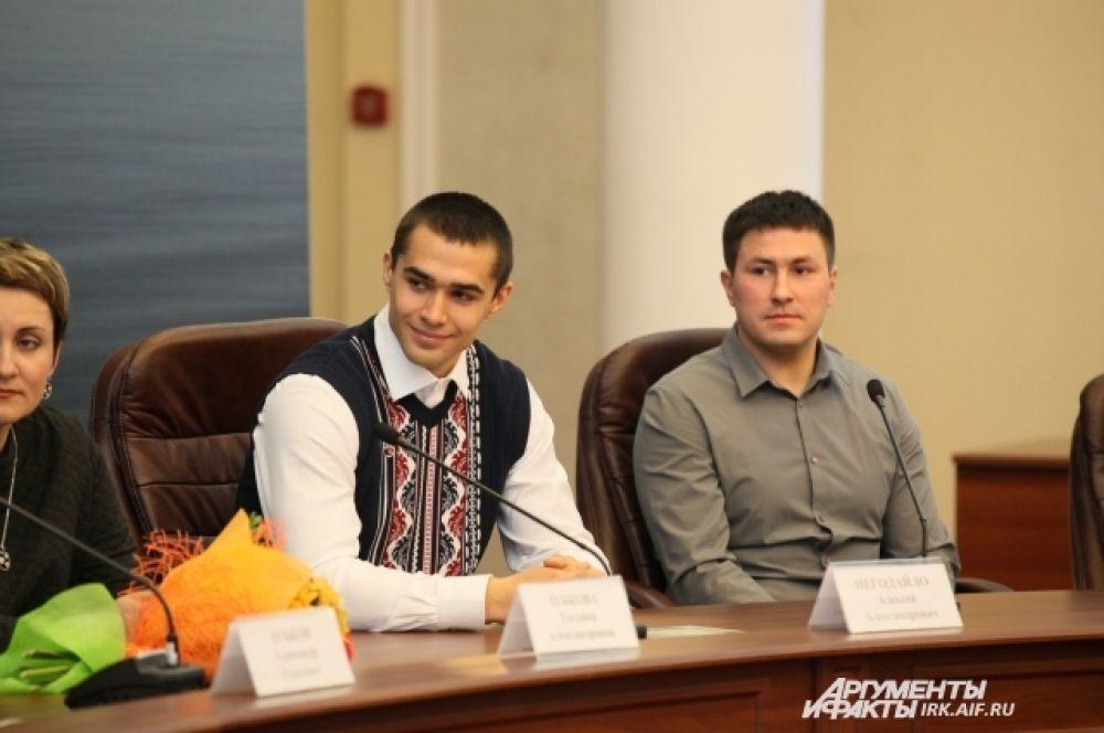 Два Алексея. Негодайло и Касьянов.
