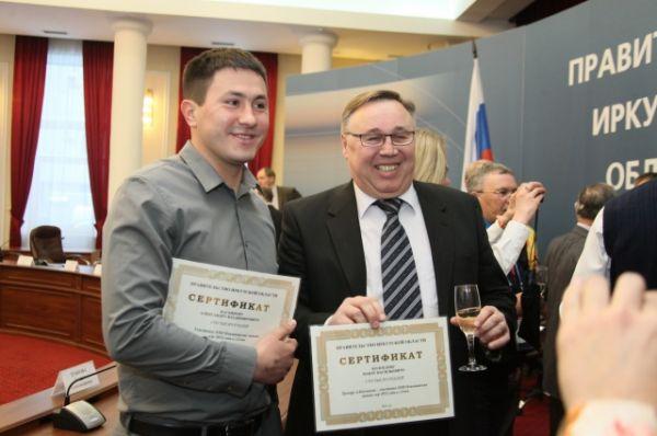 Касьянов и его тренер.