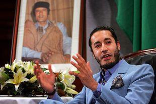 Саади Каддафи. 2005 год.