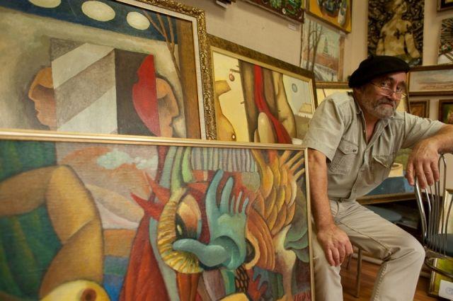 В Екатеринбурге открылась выставка уральского Пикассо