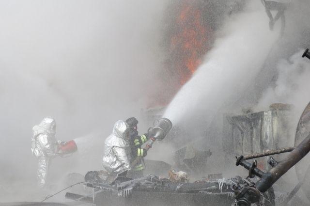Взрыв на заводе СК в Омске ликвидирован.