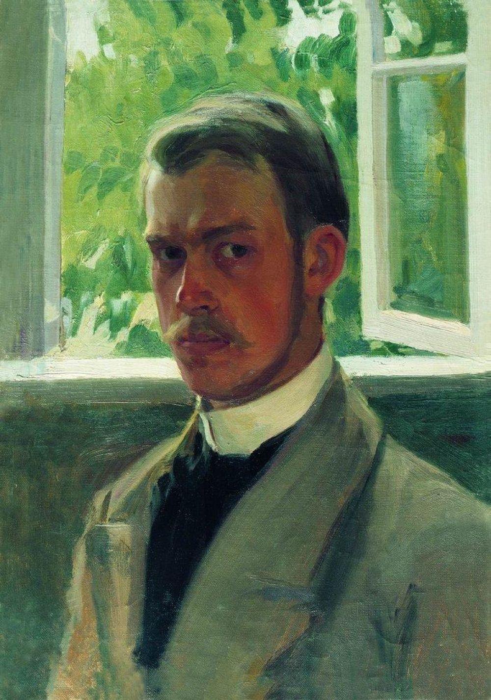 Отец Бориса Кустодиева умер, когда будущему художнику не было и двух лет. Мальчиком он ходил в церковноприходскую школу, но, посетив в девять лет выставку передвижников, страстно увлёкся живописью. Именно это событие и определило будущее Кустодиева – в 18 лет он поступил в Петербургскую Академию художеств.