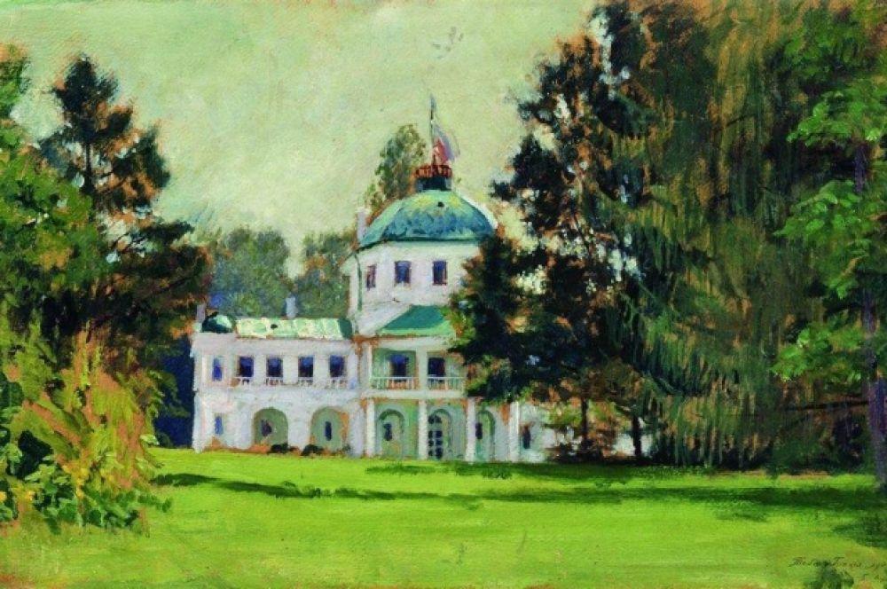 В то же время у Кустодиева появились первые признаки туберкулёза позвоночника. Он боролся с болезнью, но продолжал активную деятельность – писал картины, преподавал.