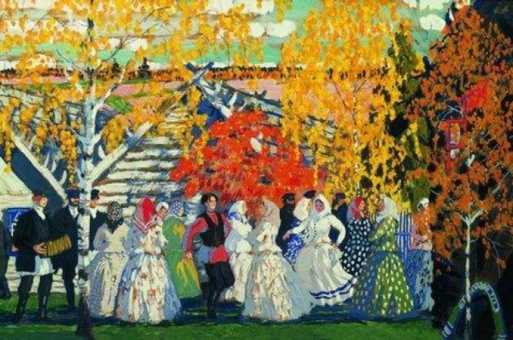 В 1909 году Кустодиеву даже предложили возглавить портретно-жанровый класс Московского училища живописи, но тот отказался. Он опасался, что эта работа будет отнимать много времени и не хотел переезжать в Москву.