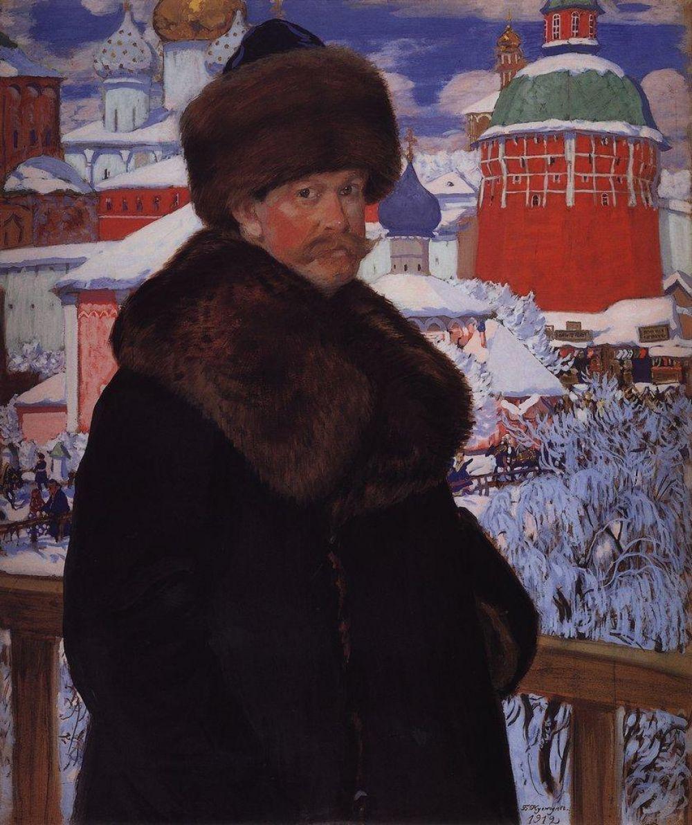 Картины Кустодиева на фоне современников выделяются тем, что точно передавали нюансы быта России того времени, однако все работы художника выполнены в своей эмоциональной манере, включавшей в себя яркую палитру и утончённый артистизм.