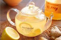 горячий чай, мед и лимон - верные друзья при простуде и гриппе