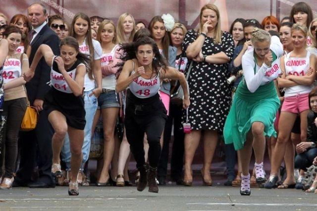 Накануне Международного женского дня в Челябинске пройдет забег на шпильках