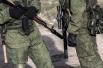 Неизвестные лица, блокирующие воинскую часть в Перевальном, хорошо вооружены