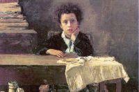 Антонио Манчини «Бедный ученик» 1876 год.