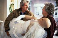Ричард гир в роли Айка Грэма в «Сбежавшей невесте». 1999 год.