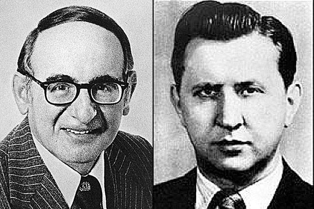 Джон Скали и Александр Феклисов.