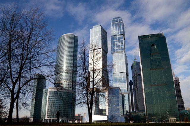 В деловом центре «Москва-Сити» располагаются не только офисы, но и апартаменты