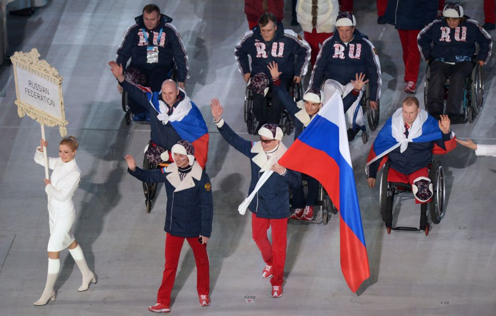 Знаменосцем российской сборной на Паралимпиаде-2014 стал горнолыжник Валерий Редкозубов.