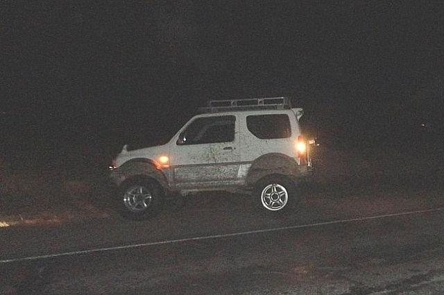 Водитель «Suzuki Jimny Sierra» сбил пешехода.