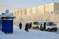 В Омске произошла авария с участием маршруток.