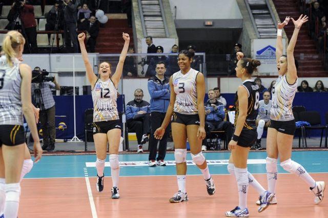 ВК «Омичка» победила в Тюмени.