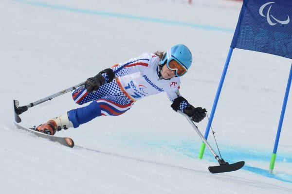 Ещё одно «серебро» в первый же день Паралимпиады завоевала горнолыжница Инга Медведева.