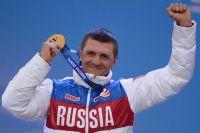 Роман Петушков, завоевавший золотую медаль на Паралимпиаде в Сочи.