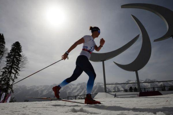 Третье место в женской гонке на 15 километров «стоя» заняла Анна Миленина.
