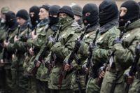 Добровольцы отрядов самообороны.