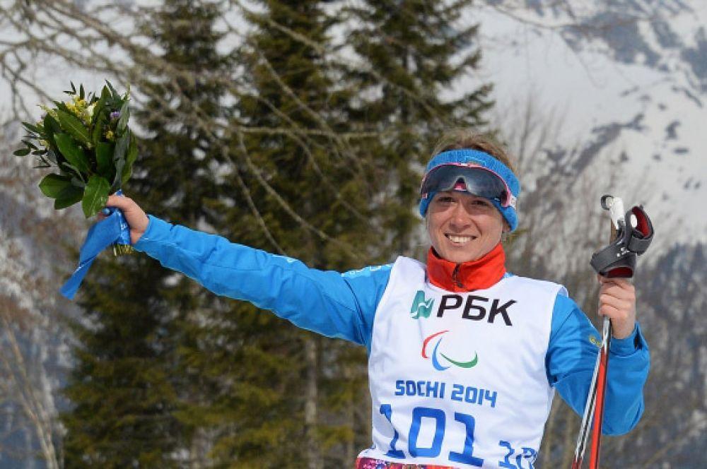 Затем «серебром» отметилась биатлонистка Светлана Коновалова, финишировавшая второй на дистанции 6 километров.