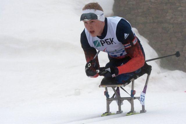 Григорий Мурыгин занял третье место на Паралимпиаде в Сочи.