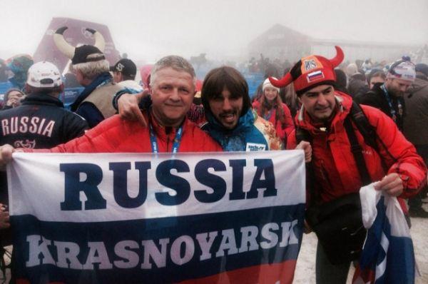 На Олимпиаде в Сочи.