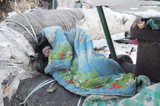 В Омске помогут бездомным.