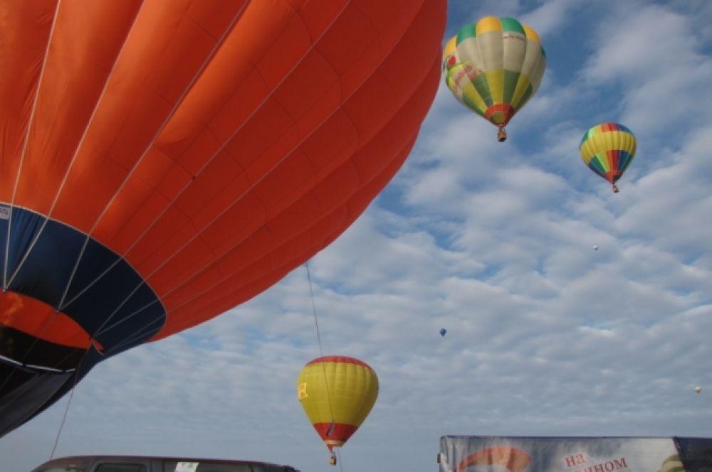 Чемпионат Тульской области по воздухоплавательному спорту проходит в нашем регионе второй раз.