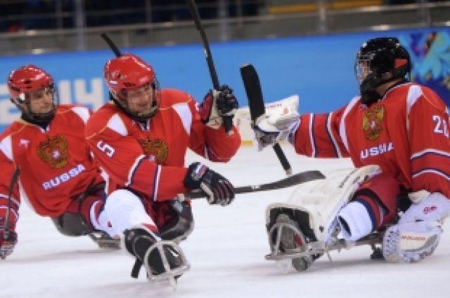 Сборная России по следж-хоккею обыграла США со счетом 2:1
