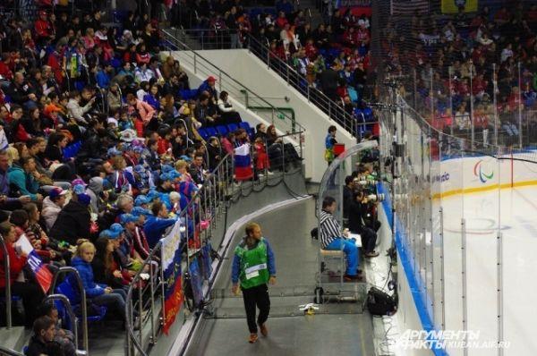 Стадион собрал более 5 тысяч зрителей.