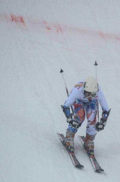 Горнолыжница Александра Францева завоевала золотую медаль в слаломе среди спортсменок с нарушением зрения.