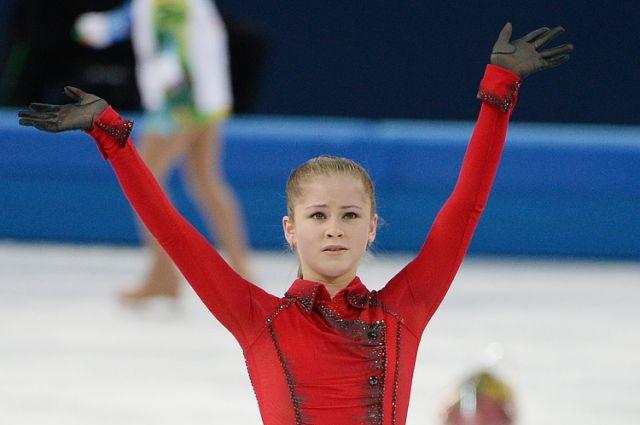 Екатеринбургская фигуристка Юлия Липницкая вошла в топ-20 российских женщин