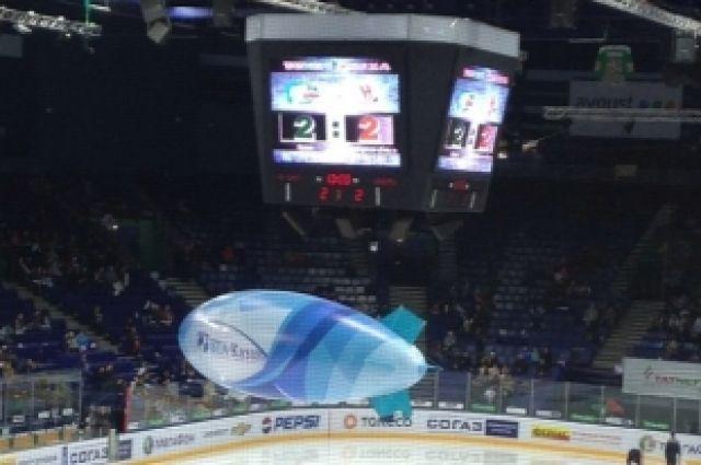Хоккей: «Сибирь» уступила «Ак Барсу» в четвертом матче серии плей-офф
