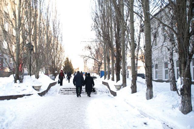 Пешеходная зона в центре Омска рискует превратиться в каменные джунгли.