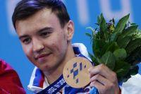Бронзовая медаль Алексея Бугаева.