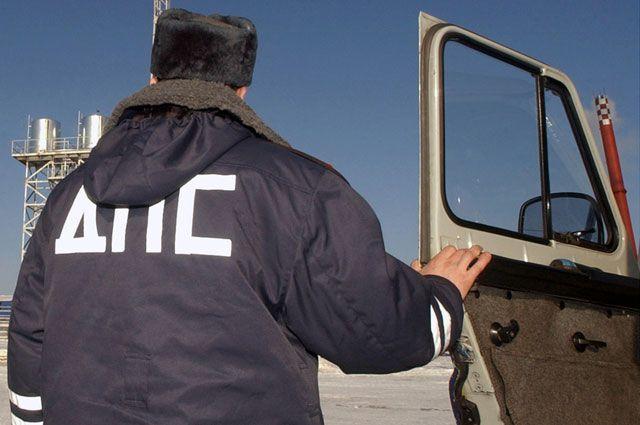 В Омске произошло тройное ДТП.